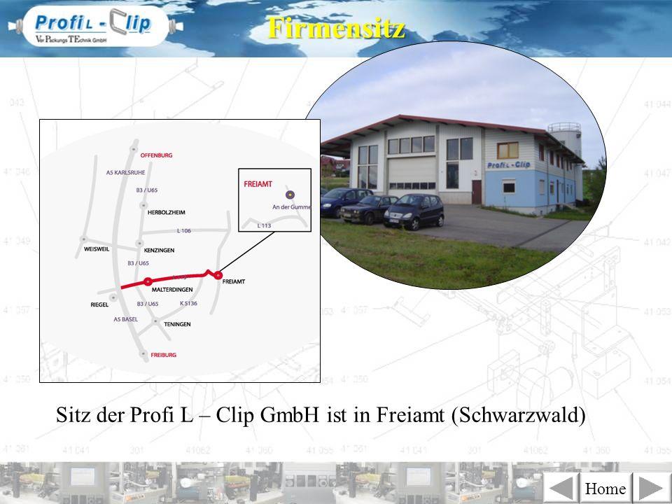 Firmensitz Sitz der Profi L – Clip GmbH ist in Freiamt (Schwarzwald)