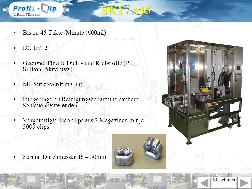SKT / A15 Bis zu 45 Takte /Minute (600ml) DC 15/12