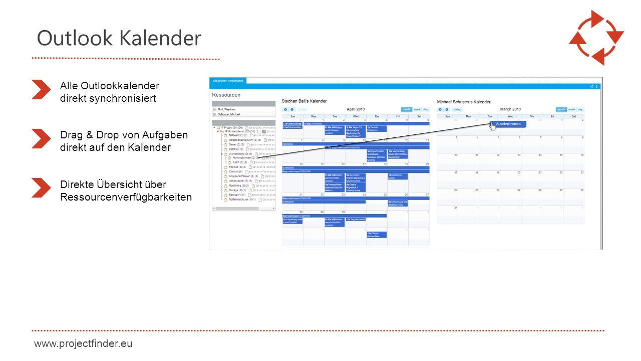 Outlook Kalender Alle Outlookkalender direkt synchronisiert
