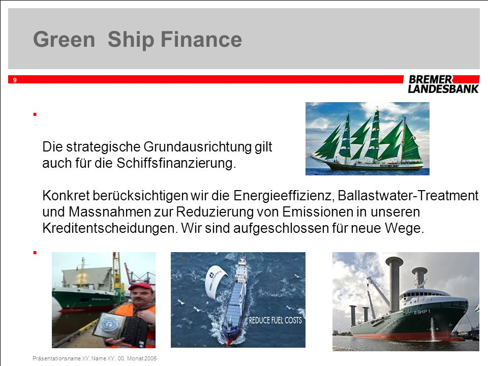 Green Ship Finance