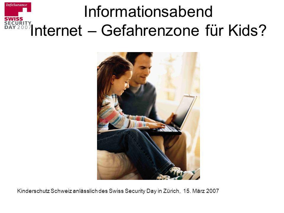 Informationsabend Internet – Gefahrenzone für Kids