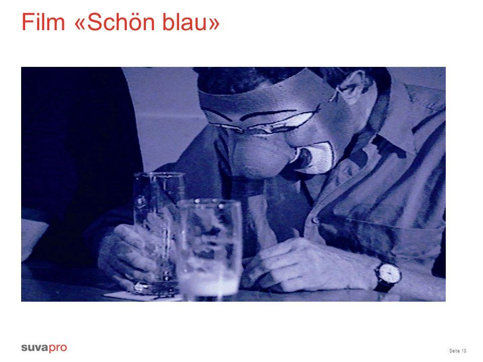Film «Schön blau» Diskussion