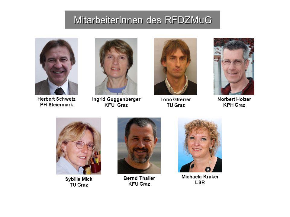 MitarbeiterInnen des RFDZMuG