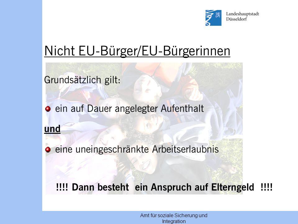 Nicht EU-Bürger/EU-Bürgerinnen