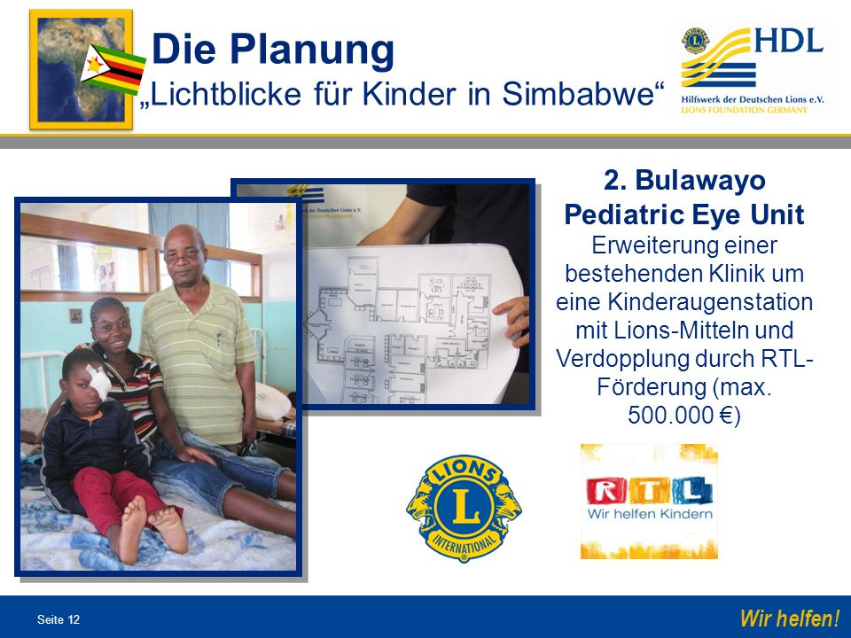 2. Bulawayo Pediatric Eye Unit