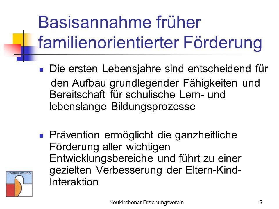 Basisannahme früher familienorientierter Förderung