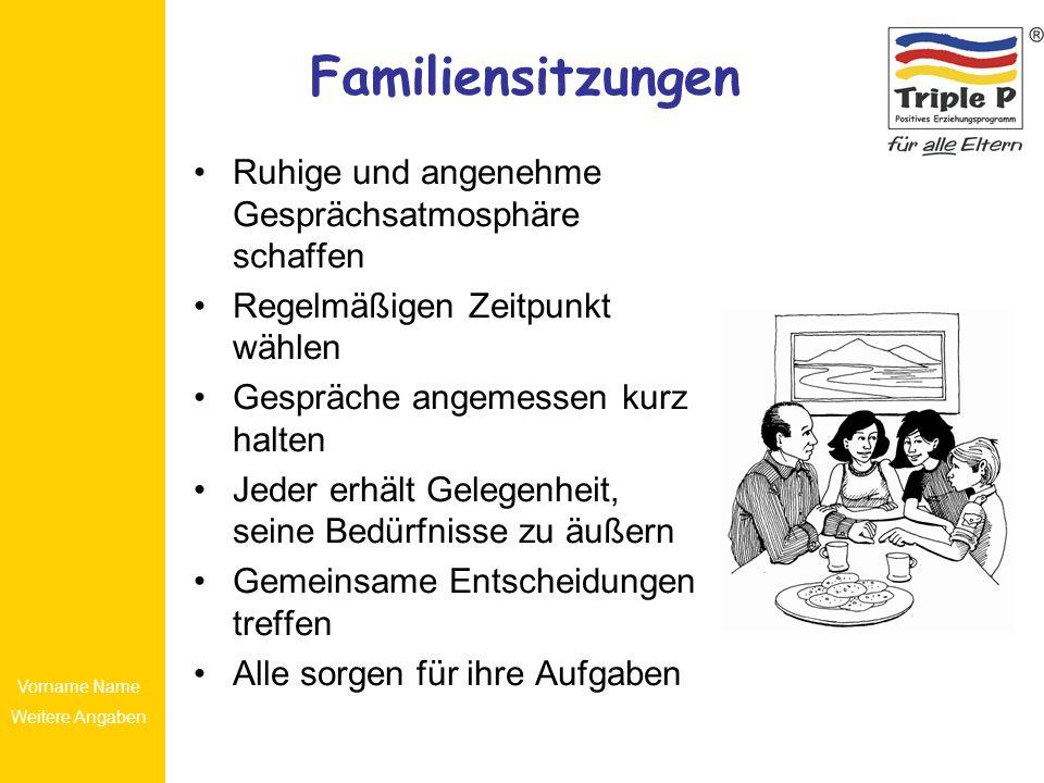 Familiensitzungen Ruhige und angenehme Gesprächsatmosphäre schaffen