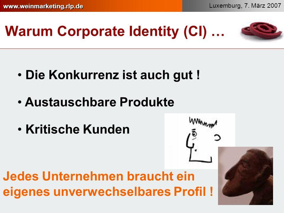 Warum Corporate Identity (CI) …