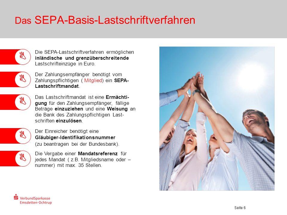 Das SEPA-Basis-Lastschriftverfahren
