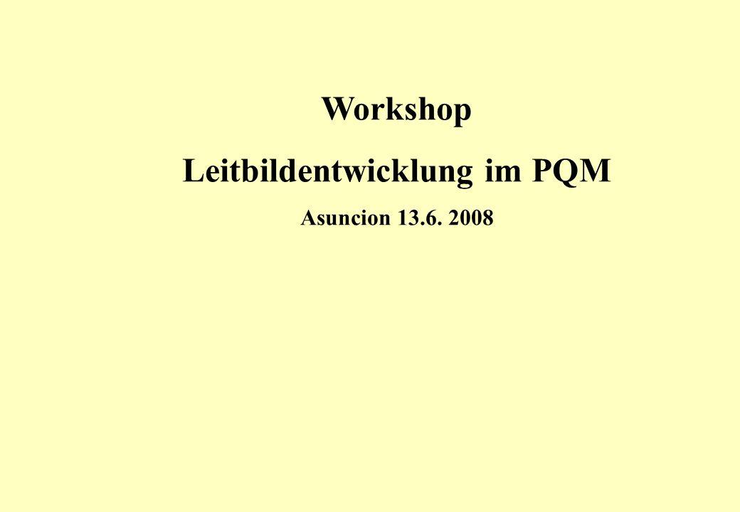 Leitbildentwicklung im PQM