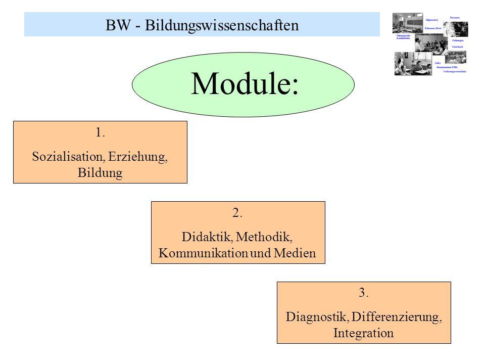 Module: BW - Bildungswissenschaften 1.