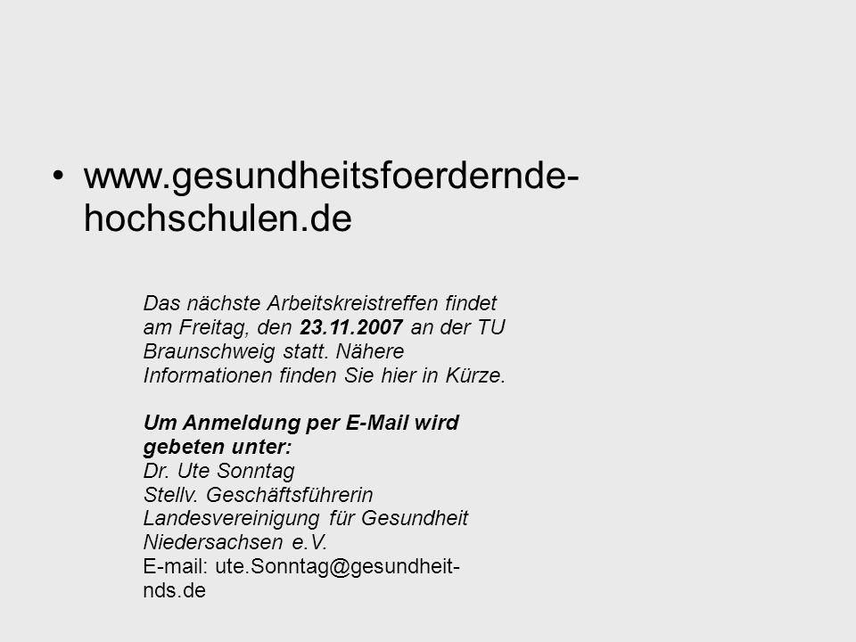 www.gesundheitsfoerdernde- hochschulen.de