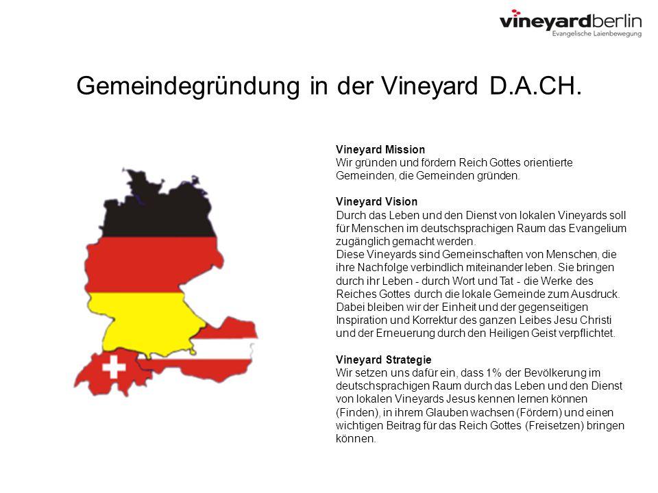 Gemeindegründung in der Vineyard D.A.CH.