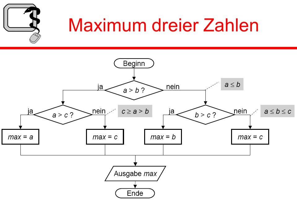 Maximum dreier Zahlen