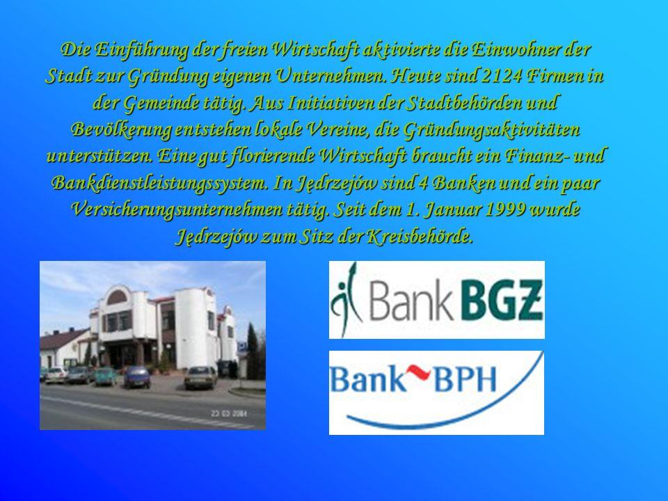 Die Einführung der freien Wirtschaft aktivierte die Einwohner der Stadt zur Gründung eigenen Unternehmen.