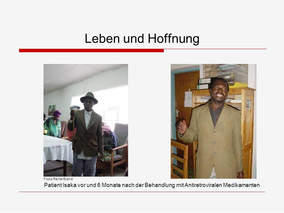 Leben und Hoffnung Fotos Rainer Brandl.