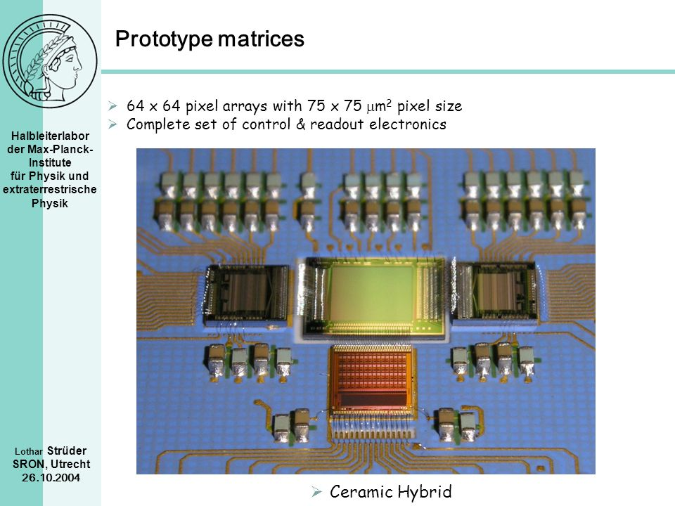 Prototype matrices Ceramic Hybrid