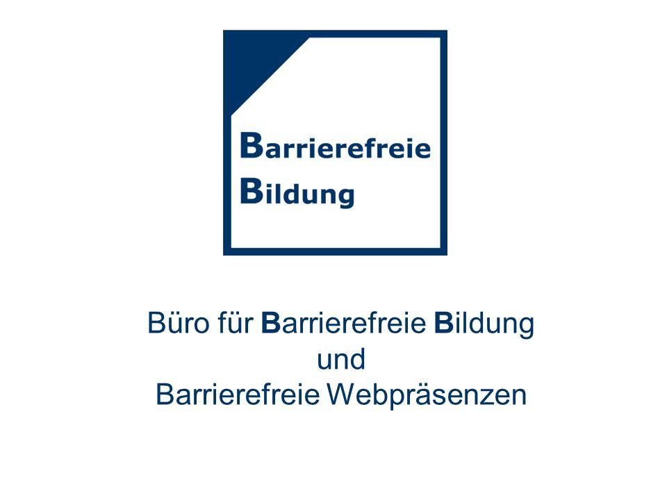 Büro für Barrierefreie Bildung und Barrierefreie Webpräsenzen