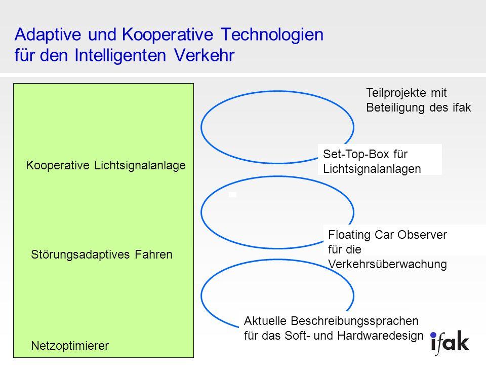Adaptive und Kooperative Technologien für den Intelligenten Verkehr
