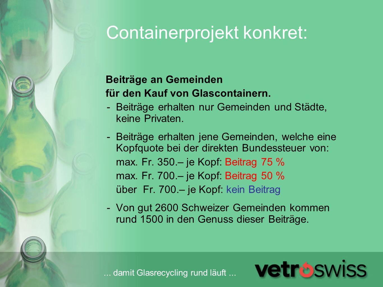 Containerprojekt konkret: