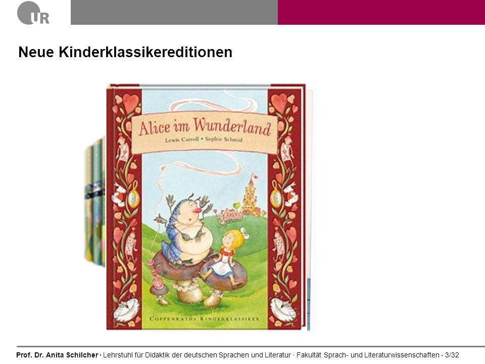 Neue Kinderklassikereditionen