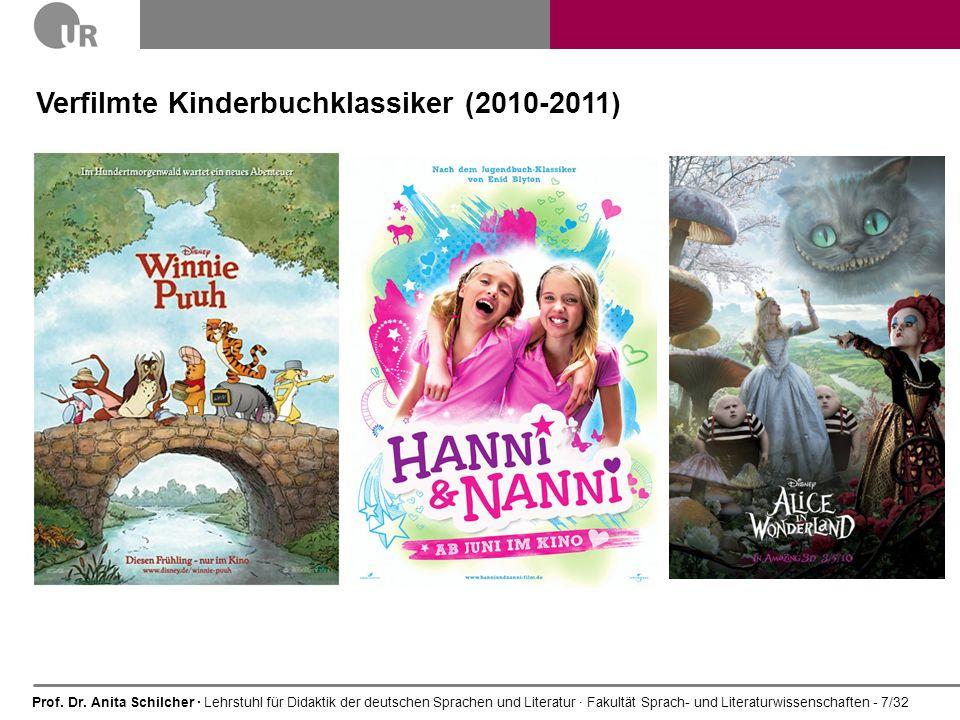 Verfilmte Kinderbuchklassiker (2010-2011)