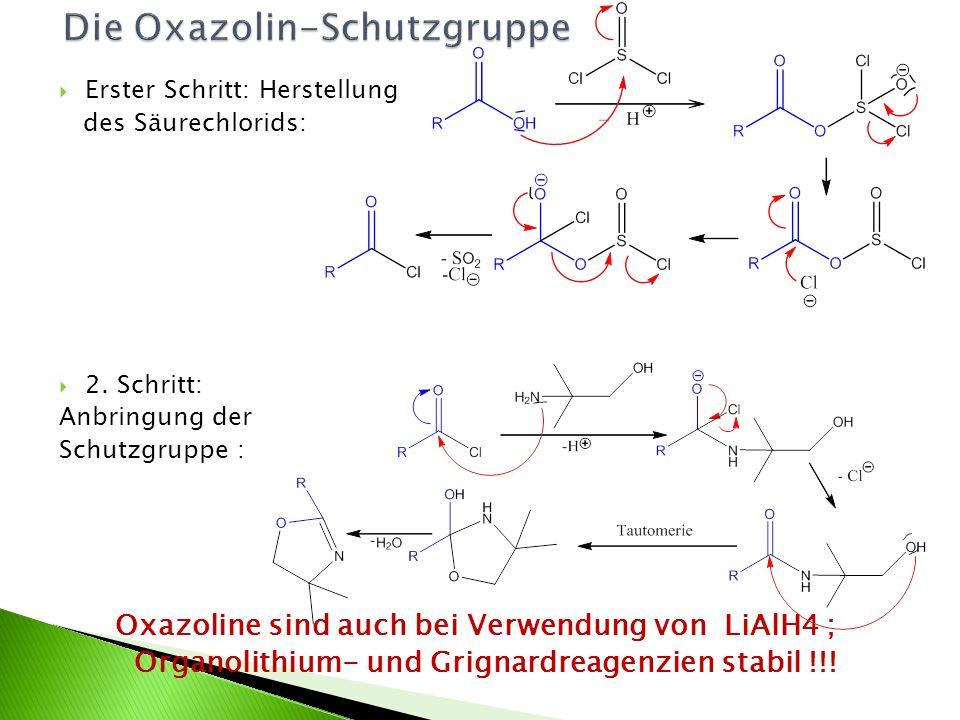 Die Oxazolin-Schutzgruppe
