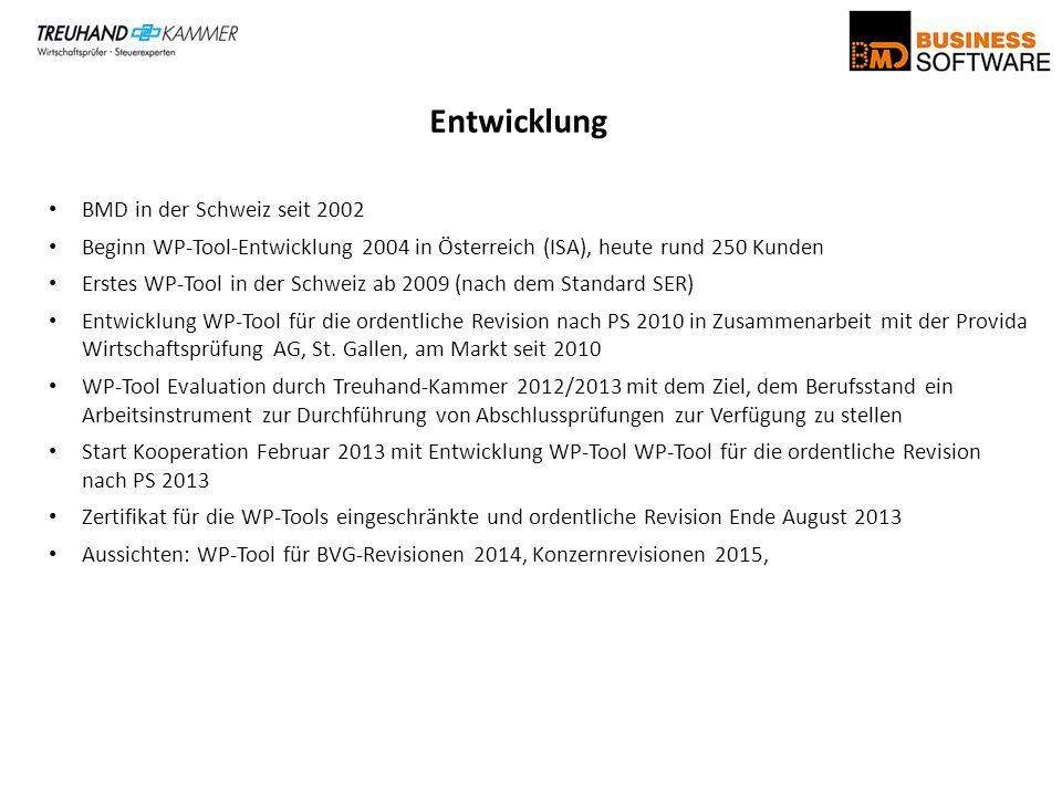 Entwicklung BMD in der Schweiz seit 2002
