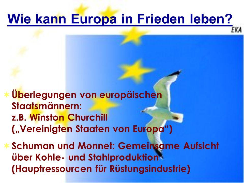 Wie kann Europa in Frieden leben