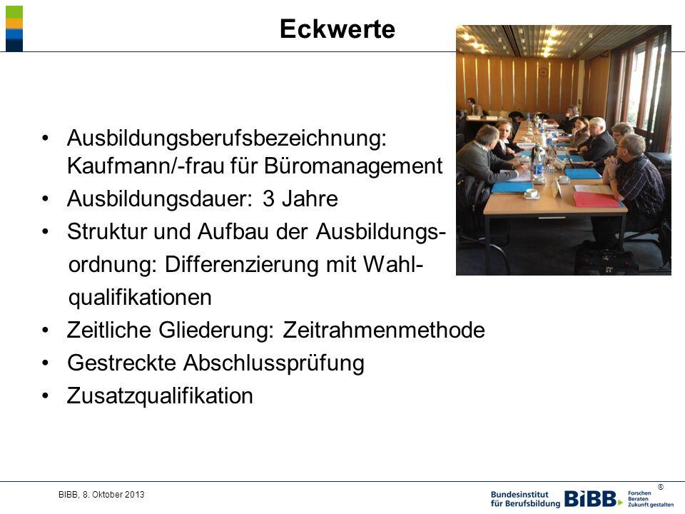 Eckwerte Ausbildungsberufsbezeichnung: Kaufmann/-frau für Büromanagement. Ausbildungsdauer: 3 Jahre.