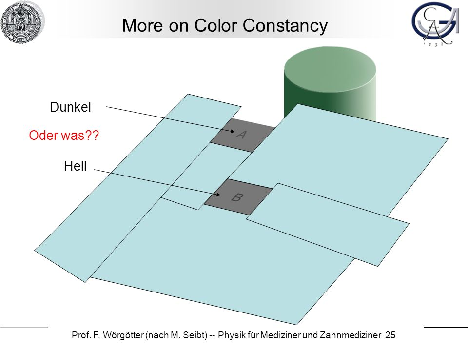 More on Color Constancy