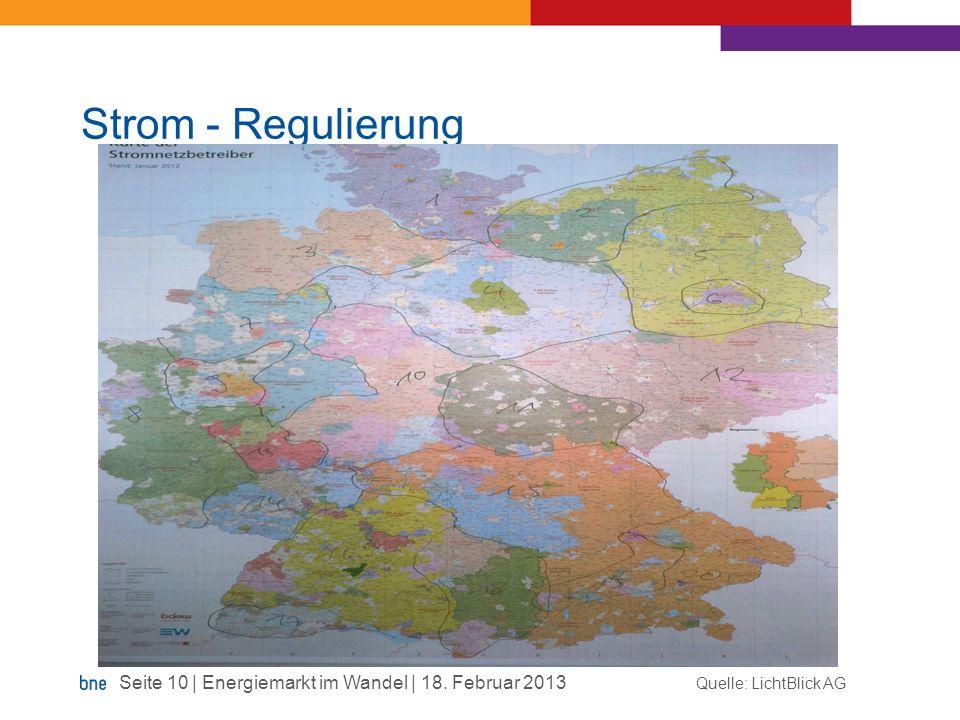 Strom - Regulierung Quelle: LichtBlick AG