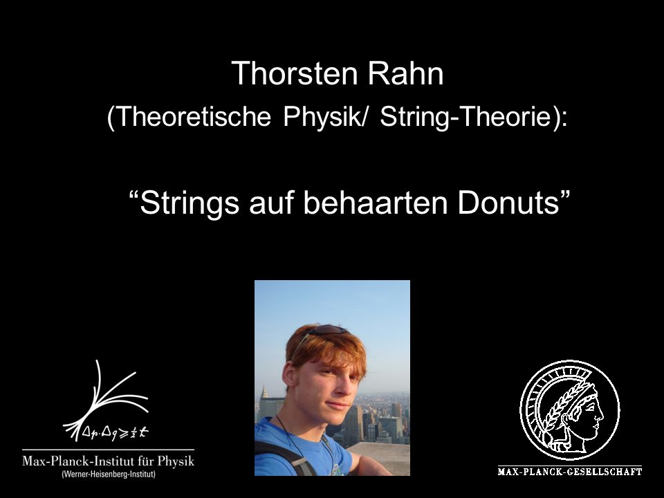 Strings auf behaarten Donuts