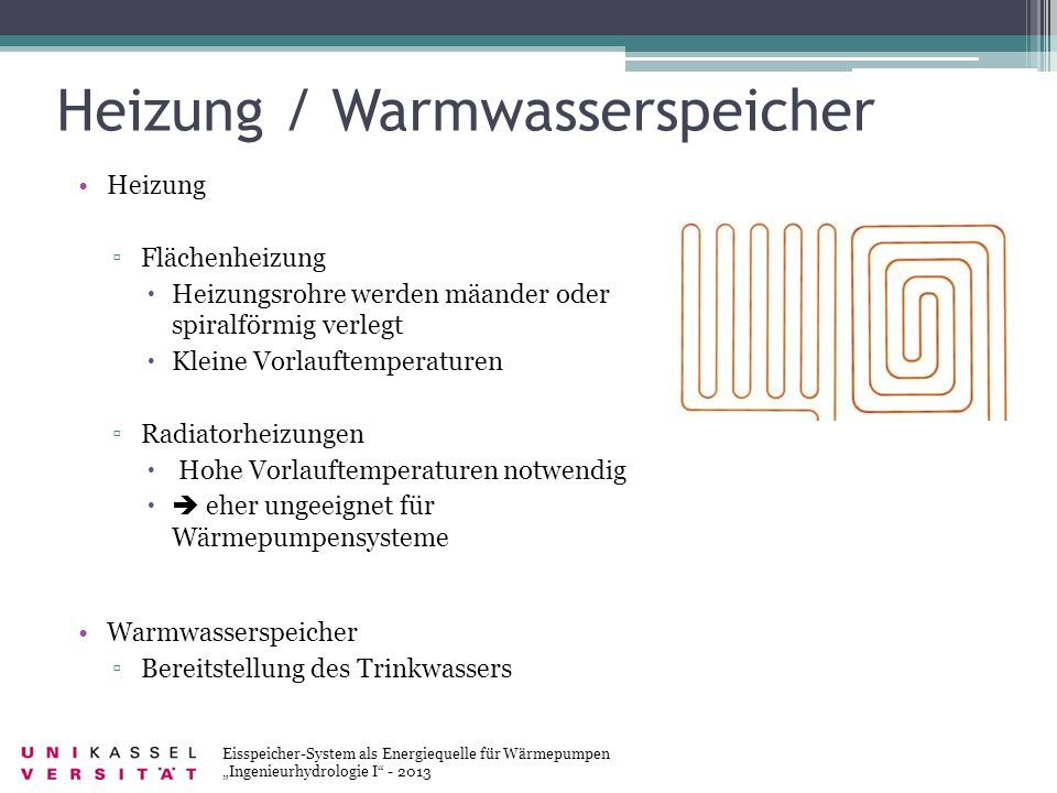 Heizung / Warmwasserspeicher