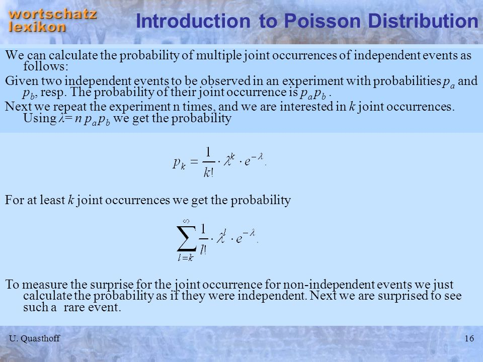 Introduction to Poisson Distribution