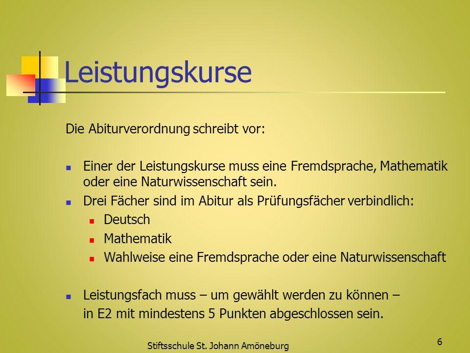 Stiftsschule St. Johann Amöneburg