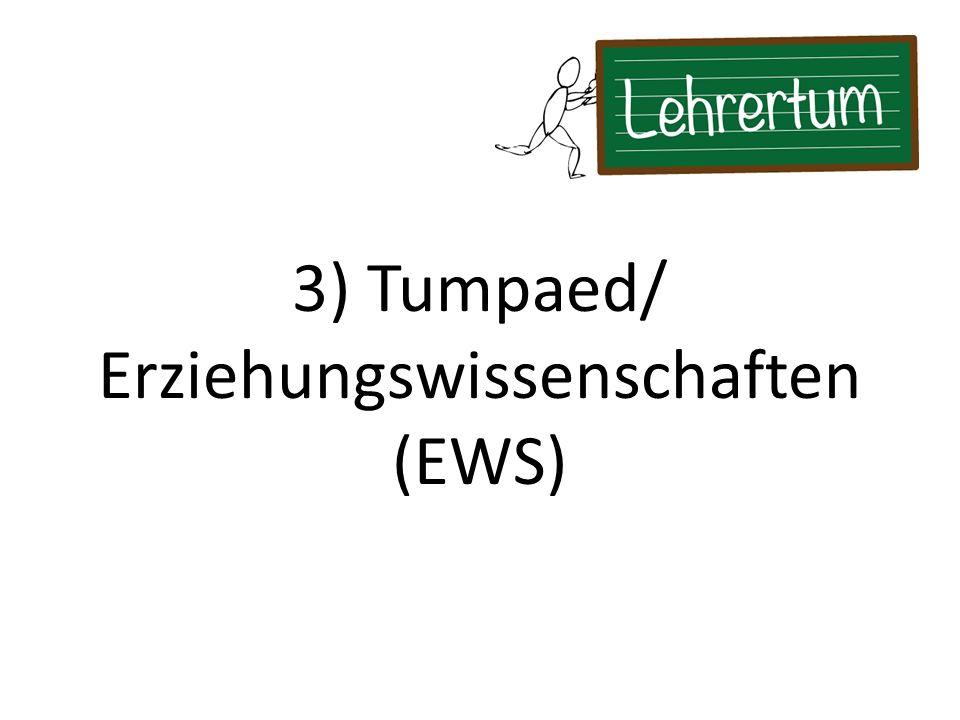 Erziehungswissenschaften (EWS)
