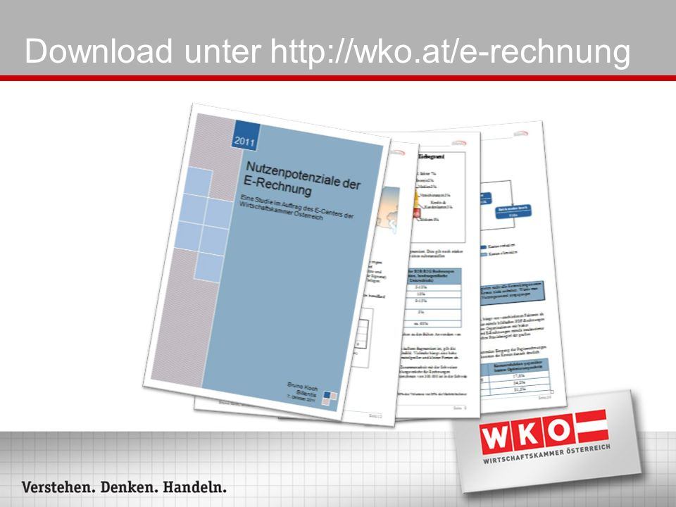 Download unter http://wko.at/e-rechnung