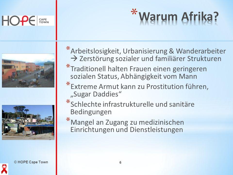 Warum Afrika Arbeitslosigkeit, Urbanisierung & Wanderarbeiter  Zerstörung sozialer und familiärer Strukturen.
