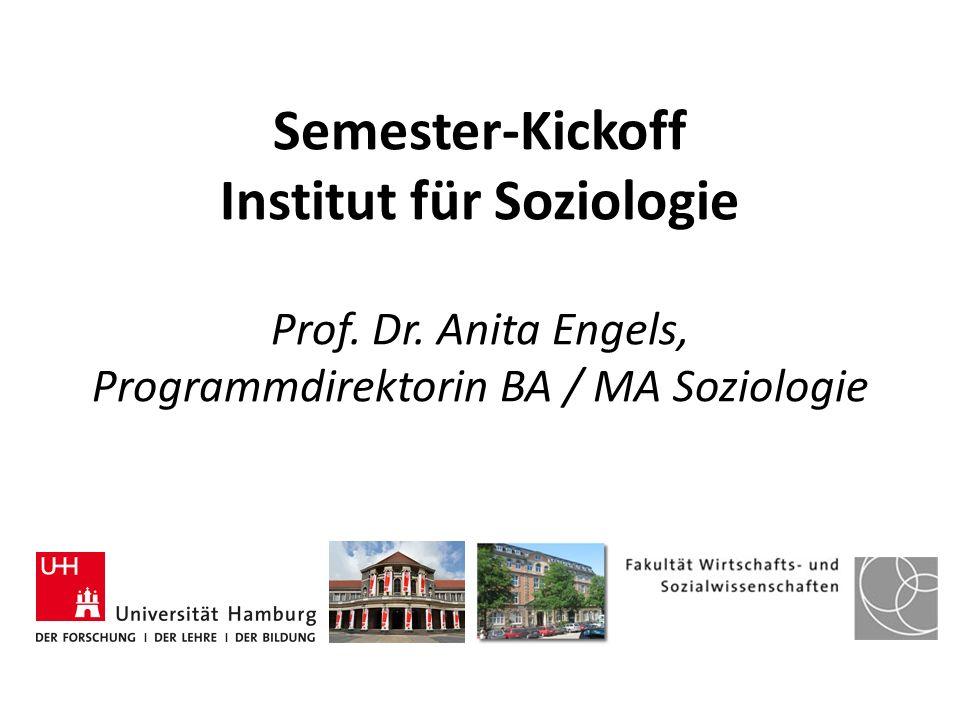Semester-Kickoff Institut für Soziologie Prof. Dr
