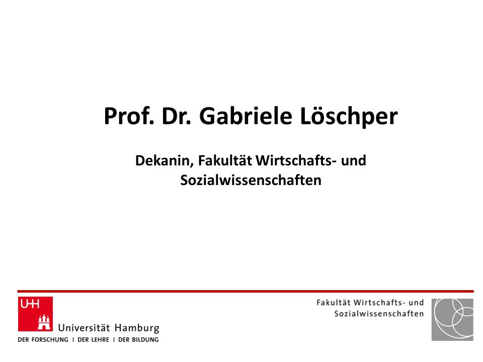 Prof. Dr. Gabriele Löschper
