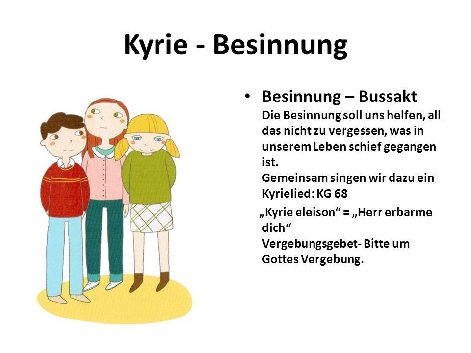 Kyrie - Besinnung