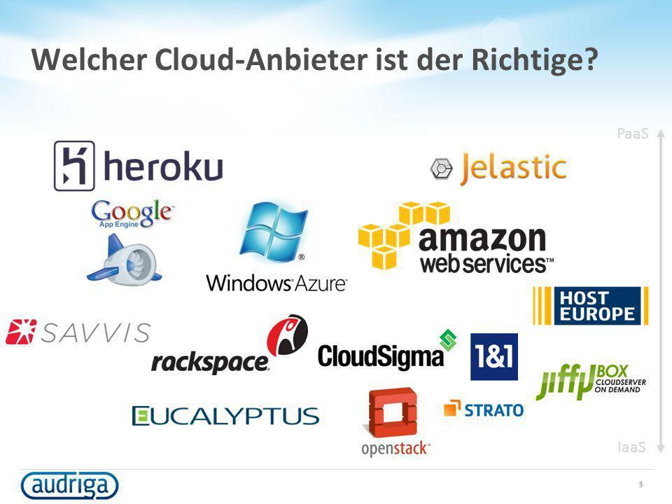 Welcher Cloud-Anbieter ist der Richtige
