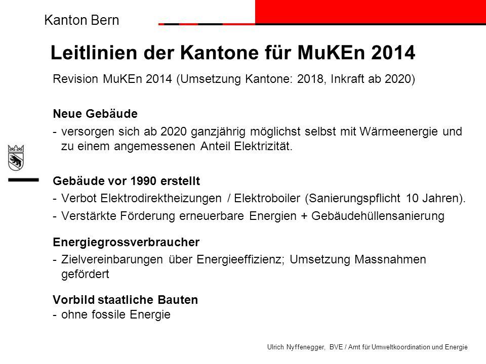 Leitlinien der Kantone für MuKEn 2014