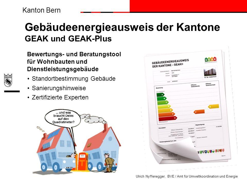 Gebäudeenergieausweis der Kantone