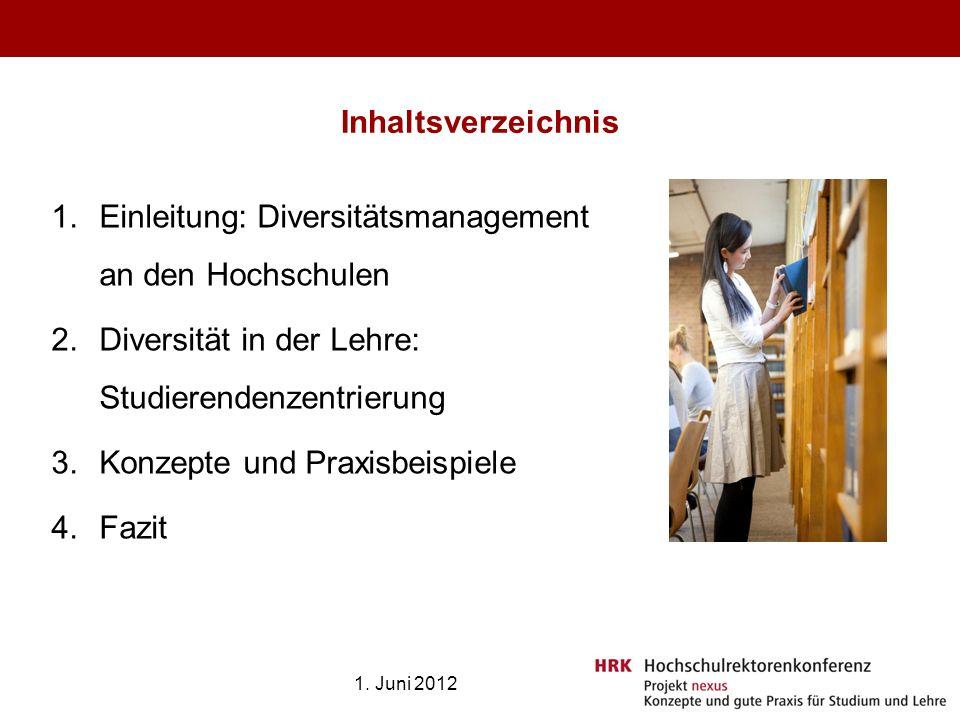 Einleitung: Diversitätsmanagement an den Hochschulen
