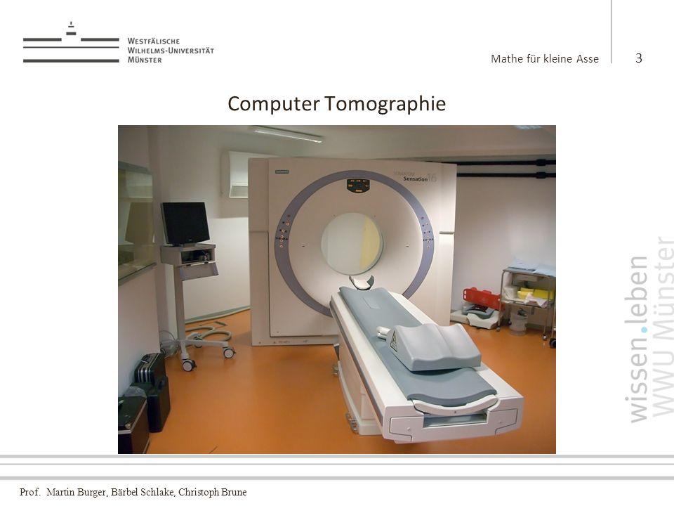 Mathe für kleine Asse Computer Tomographie