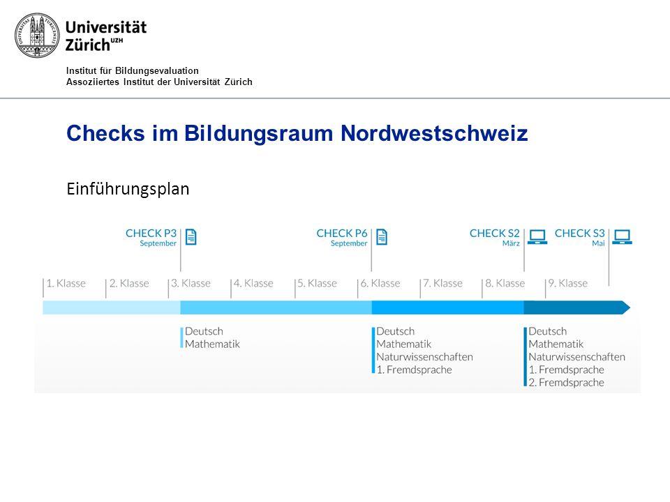 Checks im Bildungsraum Nordwestschweiz