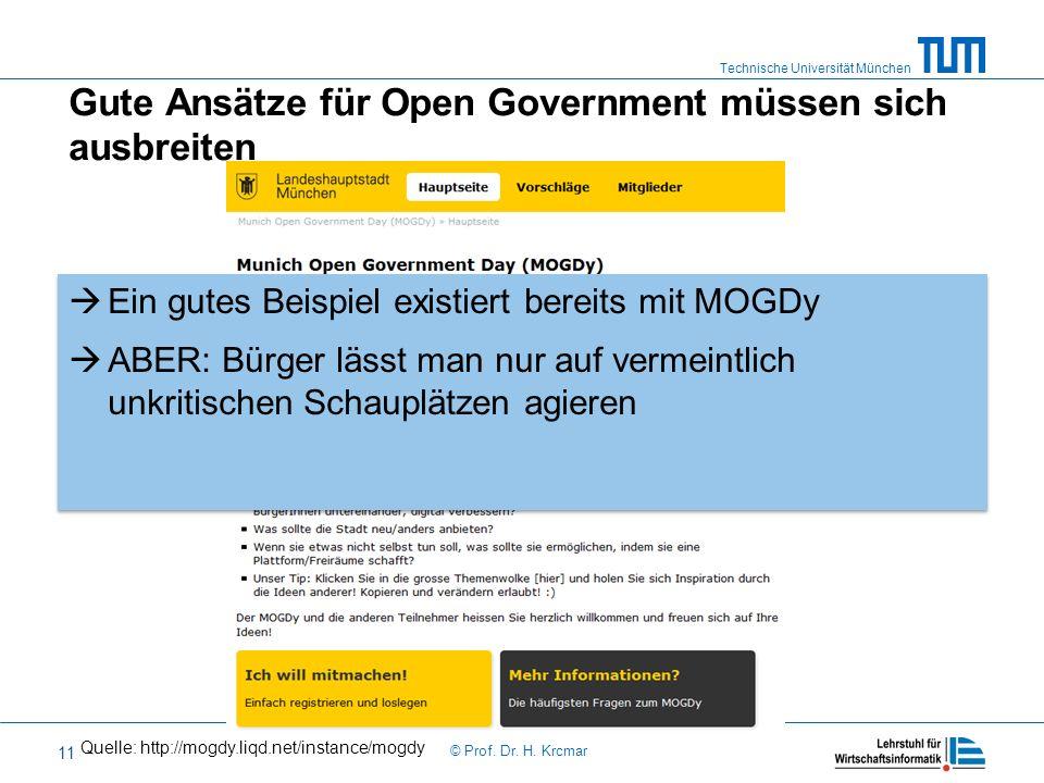 Gute Ansätze für Open Government müssen sich ausbreiten