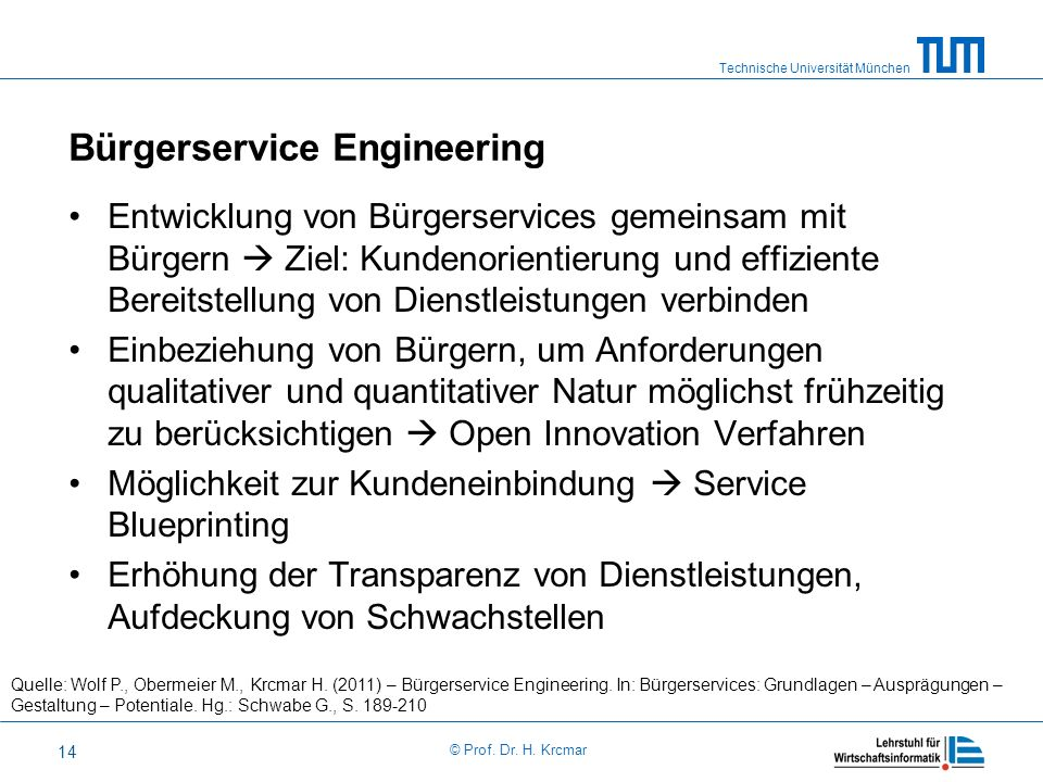 Bürgerservice Engineering